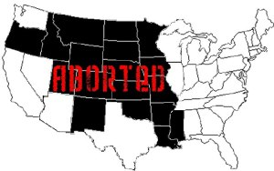 aborted map