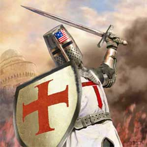 religious 5 christian crusader